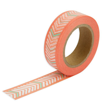Coral Arrow Washi Tape