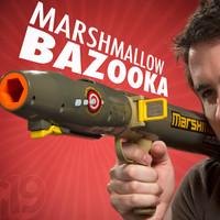 Mazooka: The Marshmallow Bazooka shoots up to 40 feet.