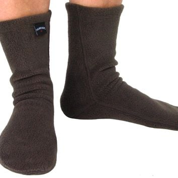 Polar Feet Adult Socks - Soft Brown