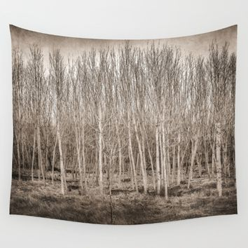 """Young trees...."" Wall Tapestry by Guido Montañés"