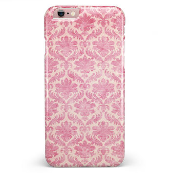Deep Pink Pattern Of Luxury iPhone 6/6s or 6/6s Plus INK-Fuzed Case
