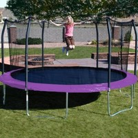 Skywalker Trampolines 17 ft. Oval Trampoline with Safety Enclosure