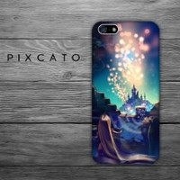 Disney Tangled 5 - Iphone 5 Case - 2D Iphone Case - Hard Plastic Case