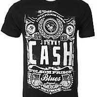 Johnny Cash Mens Tshirt JC1823