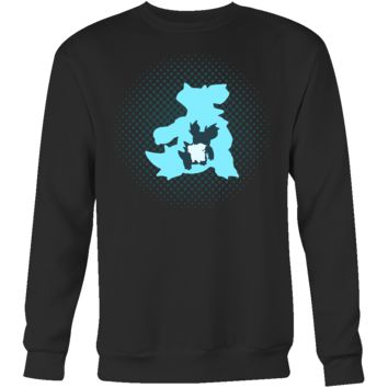 POKEMON NIDOQUEEN EVOLUTION Sweatshirt T Shirt - TL00471SW