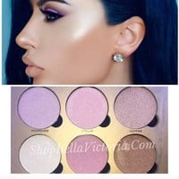 Glowing Highlight Shimmer Palette Okalan
