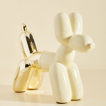 Inflated to Pretend Bookend in Cream | Mod Retro Vintage Decor Accessories | ModCloth.com