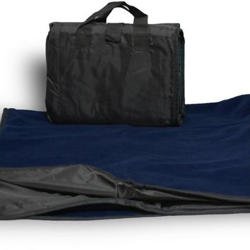 Waterproof Picnic Blanket- Black / Navy