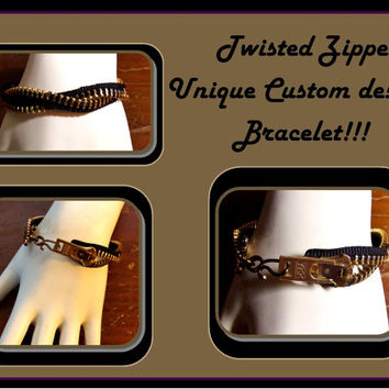 male bracelet, mens jewlery, zipper bracelets, unisex jewelry, cuff bracele, mens gift ideas, male female jewerly, bracelets
