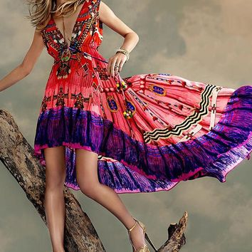 Shahida Parides Navajo Tribal Dream - Red