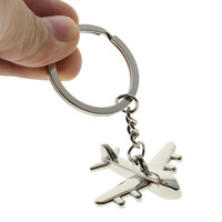 s Key Chain Civil Aviation Air Plane Metal Alloy Keychain Keyfob Keyring Gift For Men Women  SM6