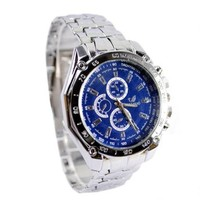 jeansian Men's Wrist Watch Fashion Stainless Steel Band ZWC076