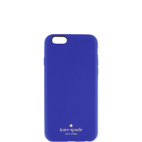 leather iphone 6 case, emperor blue - kate spade new york - Emperor blue