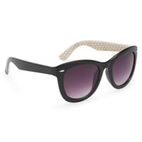 Interior Dot Cat Eye Sunglasses