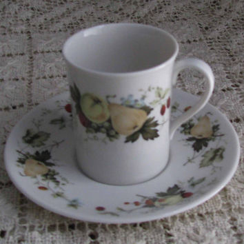 Royal Doulton English Translucent China, Demitasse Cup And Saucer, Miramont, TC1022, Perfect For Any Tea Or Demi Lover