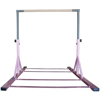 Z-Athletic Gymnastics Expandable Junior Training Bar (Pink)