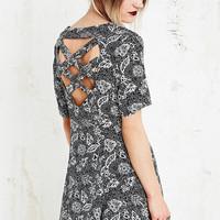 Staring at Stars Cross Back Swing Dress - Urban Outfitters