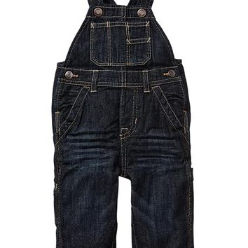 Gap Baby Factory Carpenter Denim Overalls