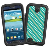 """Striped Ocean """"Protective Decal Skin"""" for LifeProof fre/nuud Samsung Galaxy S4 Case"""