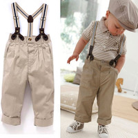 Cute Boys 2 Piece Outfit.  Pants and Shirt