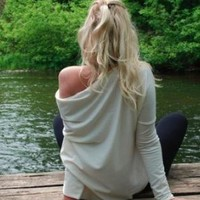 White Top - LeMuse for cozy days...   UsTrendy