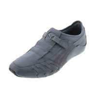 Puma Mens Vedano Leather Perforated Casual Shoes