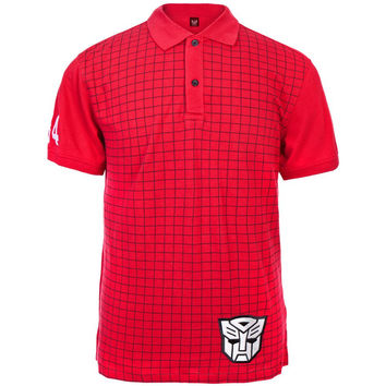 Transformers - Autobot Logo Polo Shirt