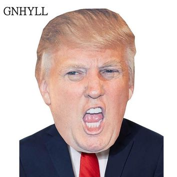 GNHYLL Funny Realistic Latex Celebrity Donald Trump Putin President Mask Halloween Ball Cosplay Masks Party Costume Dress Up