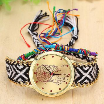 Montana Sky Handmade Dream Catcher Bracelet Watch
