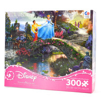 disney kinkade cinderella oversized pieces 300 pcs puzzle new with box