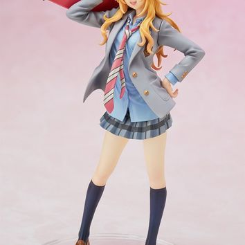 Anime Your Lie in April Miyazono Kaori 1/8 Scale Painted Figure Collectible Model Toy