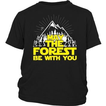 May the Forest Be With You - Kid's Tee