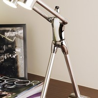 """Interflow Corp. of America Be Open To Learn 18.1"""" H Table Lamp with Drum Shade"""