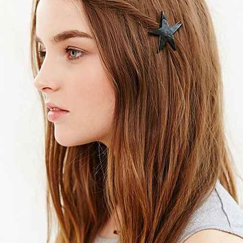 Collective Stars Barrette Set- Brown One