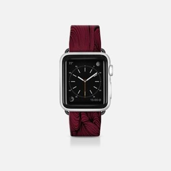 Red Fabric Apple Watch Band (38mm) by DuckyB | Casetify