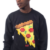 8 Bit Pizza Crew - Black