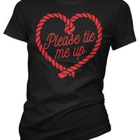 Please Tie Me Up Women's Tee