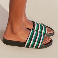 UO Striped Pool Slide | Urban Outfitters