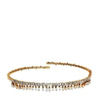 Suzanne Kalan Straight White Diamond Choker | Harrods.com