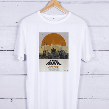 Mad Max Fury Road Art Posters Tshirt T-shirt Tees Tee Men Women Unisex Adults