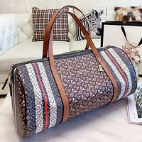 Burberry Fashion New More Letter Print Leather Shopping Leisure Shoulder Bag Crossbody Bag Handbag Luggage Bag