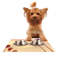 "Catherine McDonald ""Endless Summer"" Dog Place Mat"