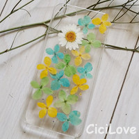 Real Natural Pressed Flower iphone 6 case iPhone 6 plus iphone 4s 5 5s 5c case samsung galaxy s4 s3 s5 note 2 note 3 note 4 case gift