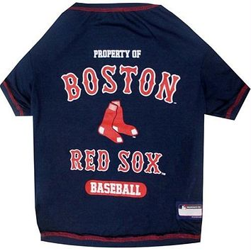 Boston Red Sox Pet T-Shirt