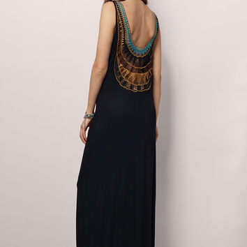 Visions Of You Maxi Dress