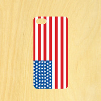 American Flag iPhone 4/4S 5/5C 6/6+ and Samsung Galaxy S3/S4/S5 Phone Case