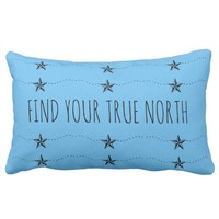 Find Your True North Lumbar Pillow