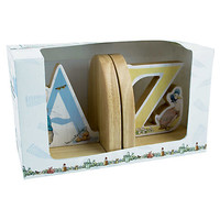 Buy Rainbow Designs Peter Rabbit Wooden Bookends online at John Lewis