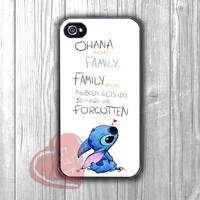 Ohana Means Family-111 for iPhone 4/4S/5/5S/5C/6/ 6+,samsung S3/S4/S5,samsung note 3/4