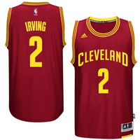 Kyrie Irving Cleveland Cavaliers adidas 2014-15 New Swingman Road Jersey – Garnet